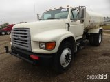 1998 FORD F800 WATER TRUCK;