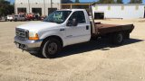 2002 FORD F350 FLATBED;