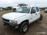 2001 CHEVROLET 2500 CAB & CHASSIS;