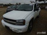 2007 CHEVROLET TRAILBLAZER SUV;