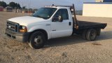 2006 FORD F350 DRW FLATBED;