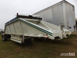 2000 RED RIVER BD 237 T/A BELLY DUMP TRAILER;