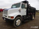 1997 INTERNATIONAL 8100 DUMP TRUCK;