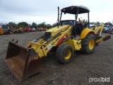 NEW HOLLAND B95 4WD LOADER BACKHOE;