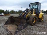 NEW HOLLAND W110B RUBBER TIRE LOADER;