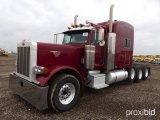 2007 PETERBILT 379 TRI-AXLE TRUCK TRACTOR;