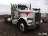 2012 PETERBILT 367 T/A TRUCK TRACTOR;