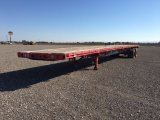 **1992 FONTAINE 48' T/A FLATBED;