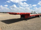 2009 PITTS DF48 48' T/A STEPDECK TRAILER;