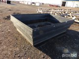(4) 4X8X2 CONTAINMENT TUBS;