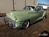 1947 CHRYSLER NEW YORKER COUPE AUTOMOBILE;