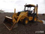 2005 JOHN DEERE 410G 4WD LOADER BACKHOE;