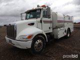 2005 PETERBILT 335 FUEL AND LUBE TRUCK;
