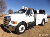 2008 FORD F650 SERVICE TRUCK;
