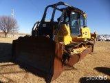2012 JOHN DEERE 850K CRAWLER TRACTOR;