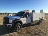 2012 FORD F550 4WD SERVICE TRUCK;