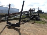 1996 LOG AND POLE T/A TRAILER;