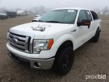 2011 FORD F-150 EXTENDED CAB PICKUP