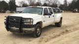 2005 CHEVROLET 3500 HD CREW CAB DRW PICKUP;