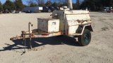 INGERSOLL RAND DR-150 AIR COMPRESSOR;