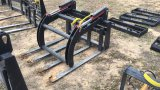 UNUSED MID-STATE ADJUSTABLE FORK GRAPPLE;