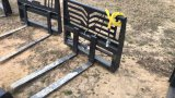 UNUSED MID-STATE HYDRAULIC ADJUSTABLE FORKS;
