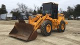 2006 HYUNDAI HL730XTD-7 RUBBER TIRE LOADER;