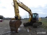 2001 NEW HOLLAND EC215 EXCAVATOR;