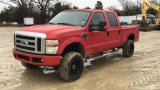 2007 FORD F250 CREW CAB PICKUP;