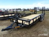 UNUSED 2018 TIGER 20' HEAVY DUTY T/A TRAILER;