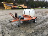 KUBOTA PULL-BEHIND SPRAYER;