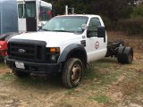 2008 FORD F550 CAB & CHASSIS;