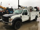 2008 FORD F550 SD SERVICE TRUCK;