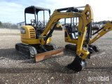 2012 CATERPILLAR 302.7D MINI EXCAVATOR;