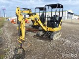 2013 CATERPILLAR 301.4C MINI EXCAVATOR;