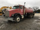 1991 KENWORTH T800 T/A WATER TRUCK;
