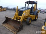 2004 JOHN DEERE 310G 4WD LOADER BACKHOE;
