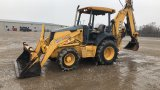 2007 JOHN DEERE 410G 4WD LOADER BACKHOE;
