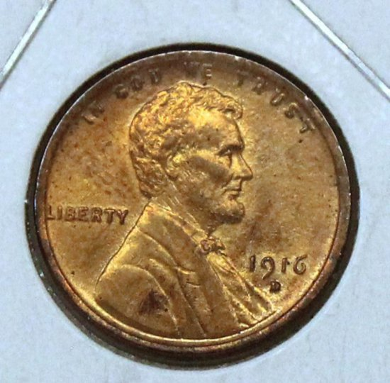 1916D Wheat Cent