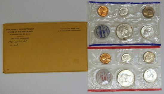 1961 P&D U.S. Mint Set
