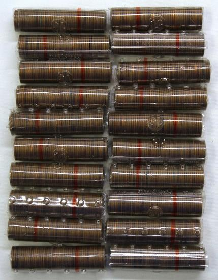 (1000) Mixed Date Wheat Cents