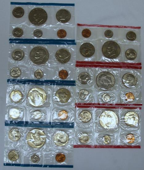 U.S. Mint (3) D and (4) P Bicentennial Mint Sets