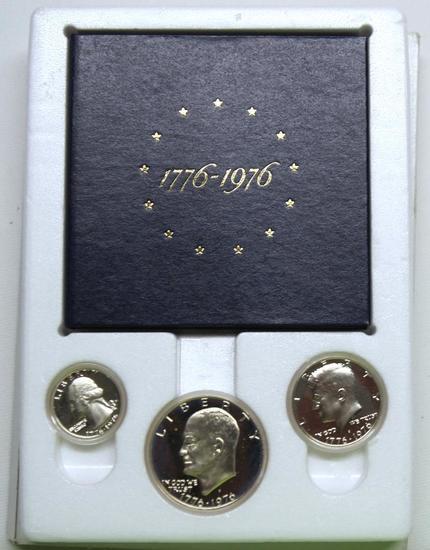 U.S. Mint 1976 Bicentennial Silver Proof Set
