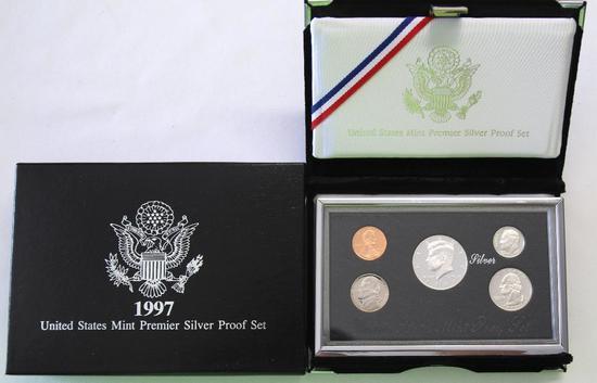 U.S. Mint 1997 Premier Silver Proof Set