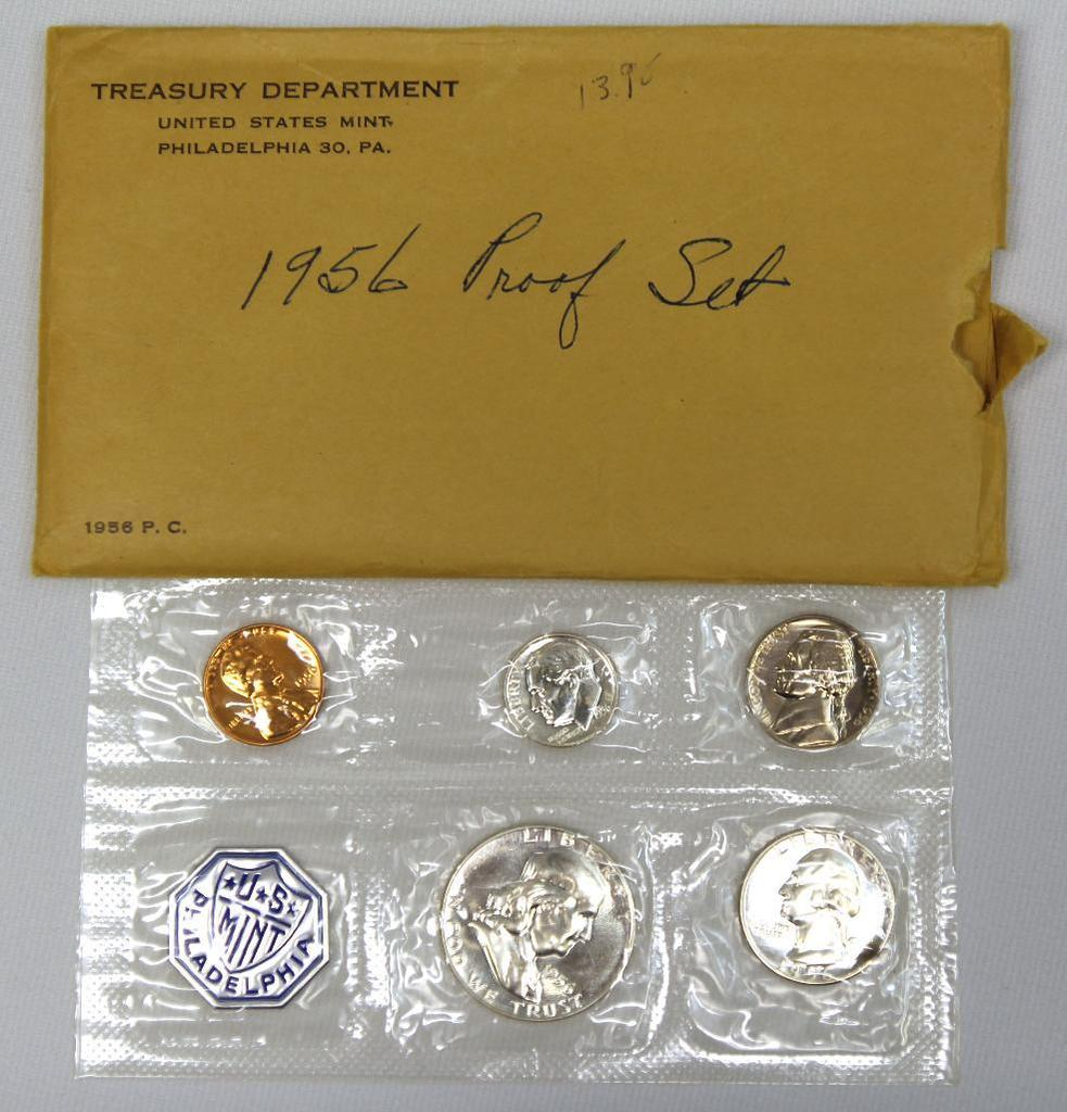 U.S. Mint 1956 Proof Set