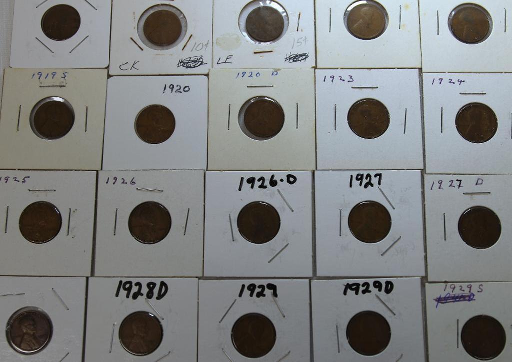 1917,1918,1918D,1919,1919D,1919S,1920,1920D,1923,1924,1925,1926,1926D,1927,1927D,1928,1928D,1929,192