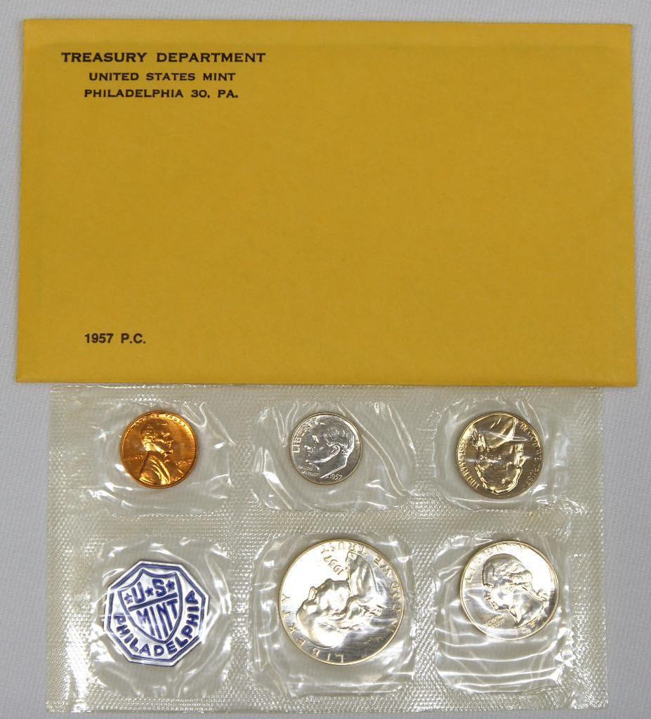 U.S. Mint 1957 Proof Set