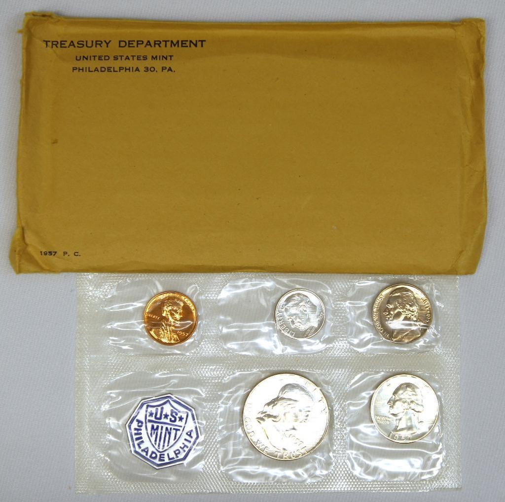 U.S. Mint 1957 Proof Set