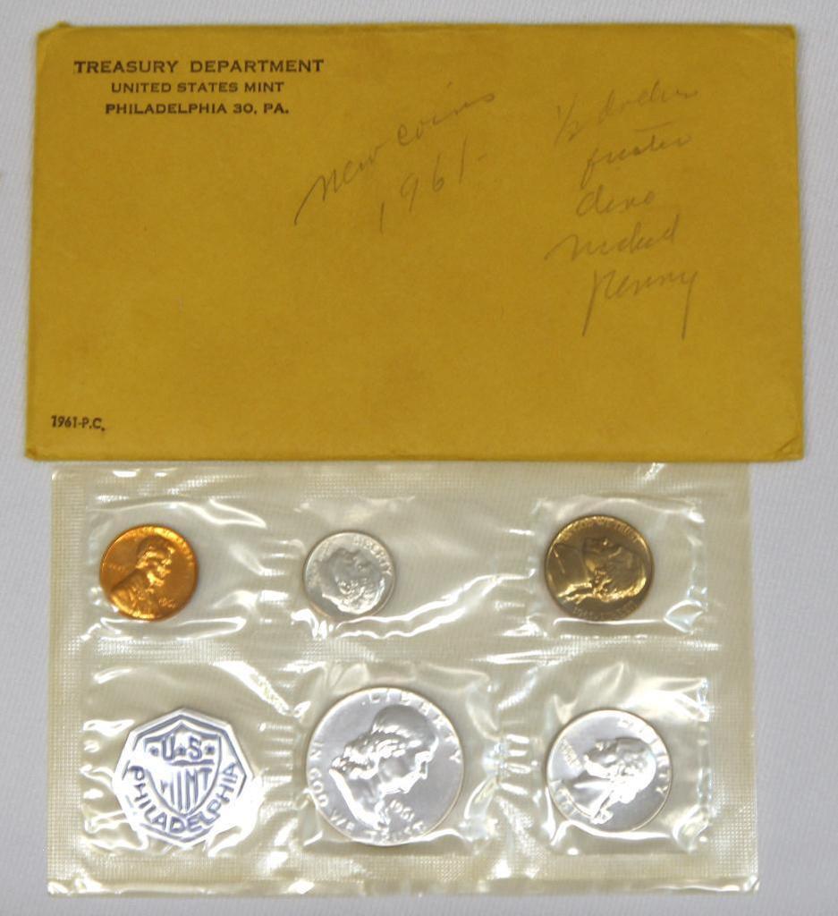 U.S. Mint 1961 Proof Set