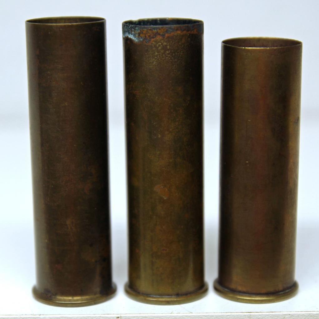 Lot: (2) Empty All Brass Winchester 8 Ga  Shotshells and Remington
